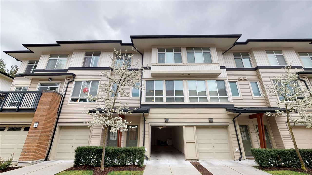 """Main Photo: 80 1125 KENSAL Place in Coquitlam: New Horizons Townhouse for sale in """"Kensal Walk"""" : MLS®# R2358763"""