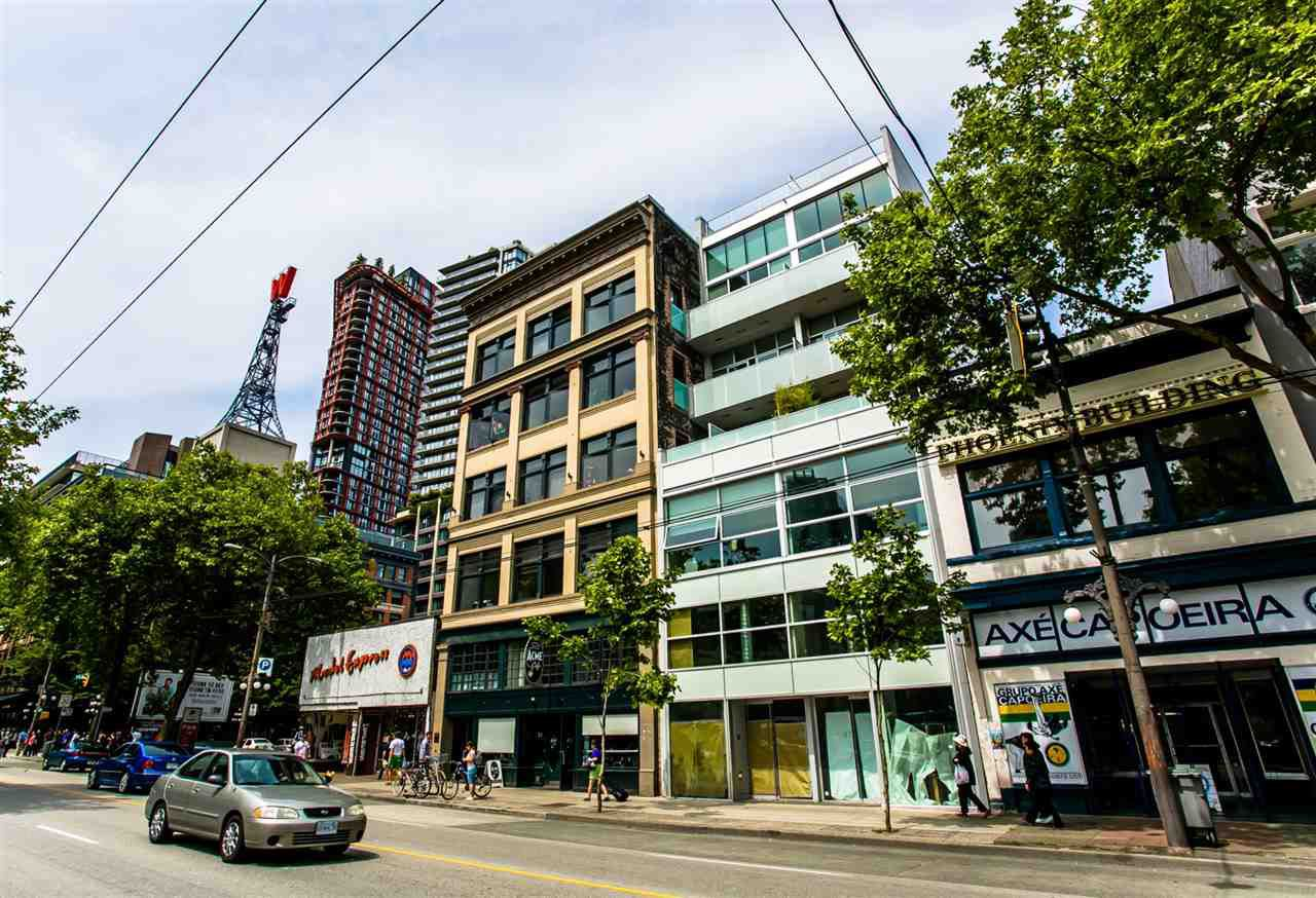 """Main Photo: 503 53 W HASTINGS Street in Vancouver: Downtown VW Condo for sale in """"PARIS BLOCK"""" (Vancouver West)  : MLS®# R2368434"""
