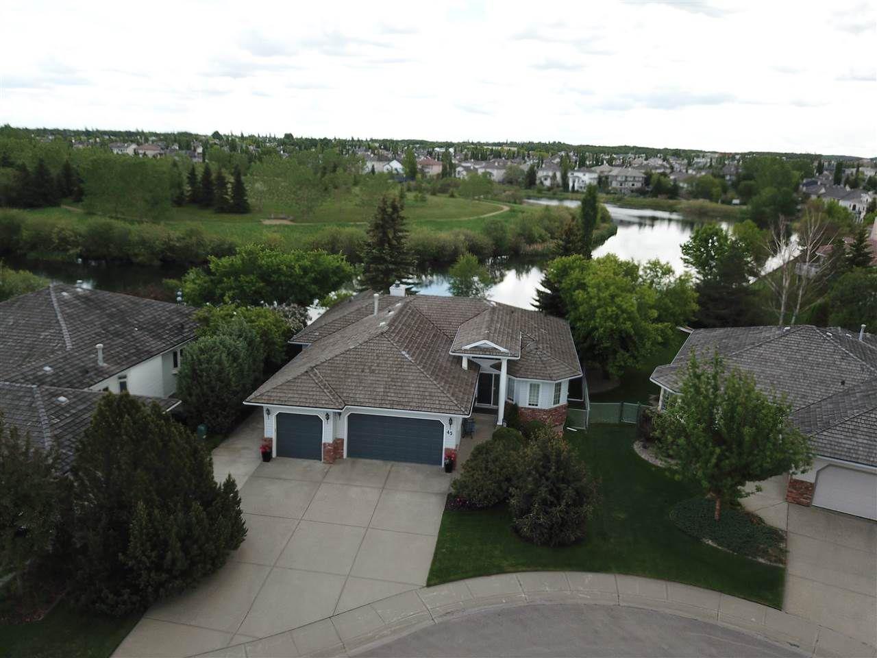 Main Photo: 45 NOTTINGHAM Estates: Sherwood Park House for sale : MLS®# E4161479