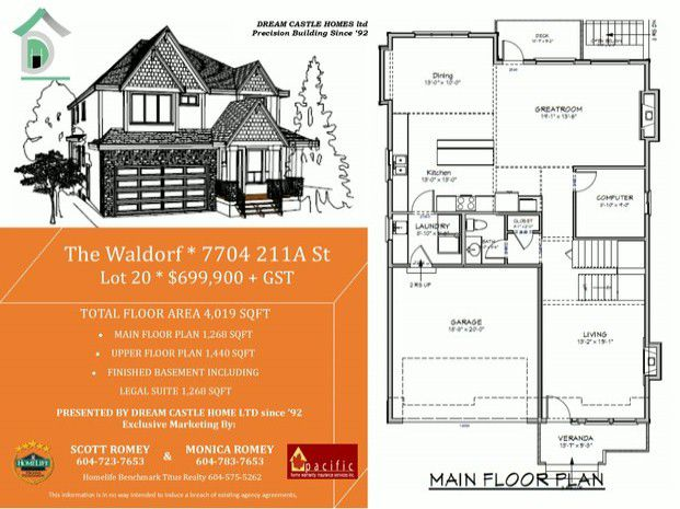 """Main Photo: 7704 211A Street in Langley: Willoughby Heights House for sale in """"Yorkson"""" : MLS®# F1326247"""