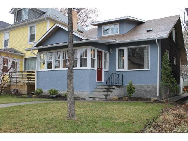 Main Photo: 35 Evanson Street in WINNIPEG: West End / Wolseley Residential for sale (West Winnipeg)  : MLS®# 1510559