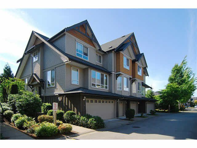 "Main Photo: 3 16772 61 Avenue in Surrey: Cloverdale BC Townhouse for sale in ""Laredo"" (Cloverdale)  : MLS®# F1443563"