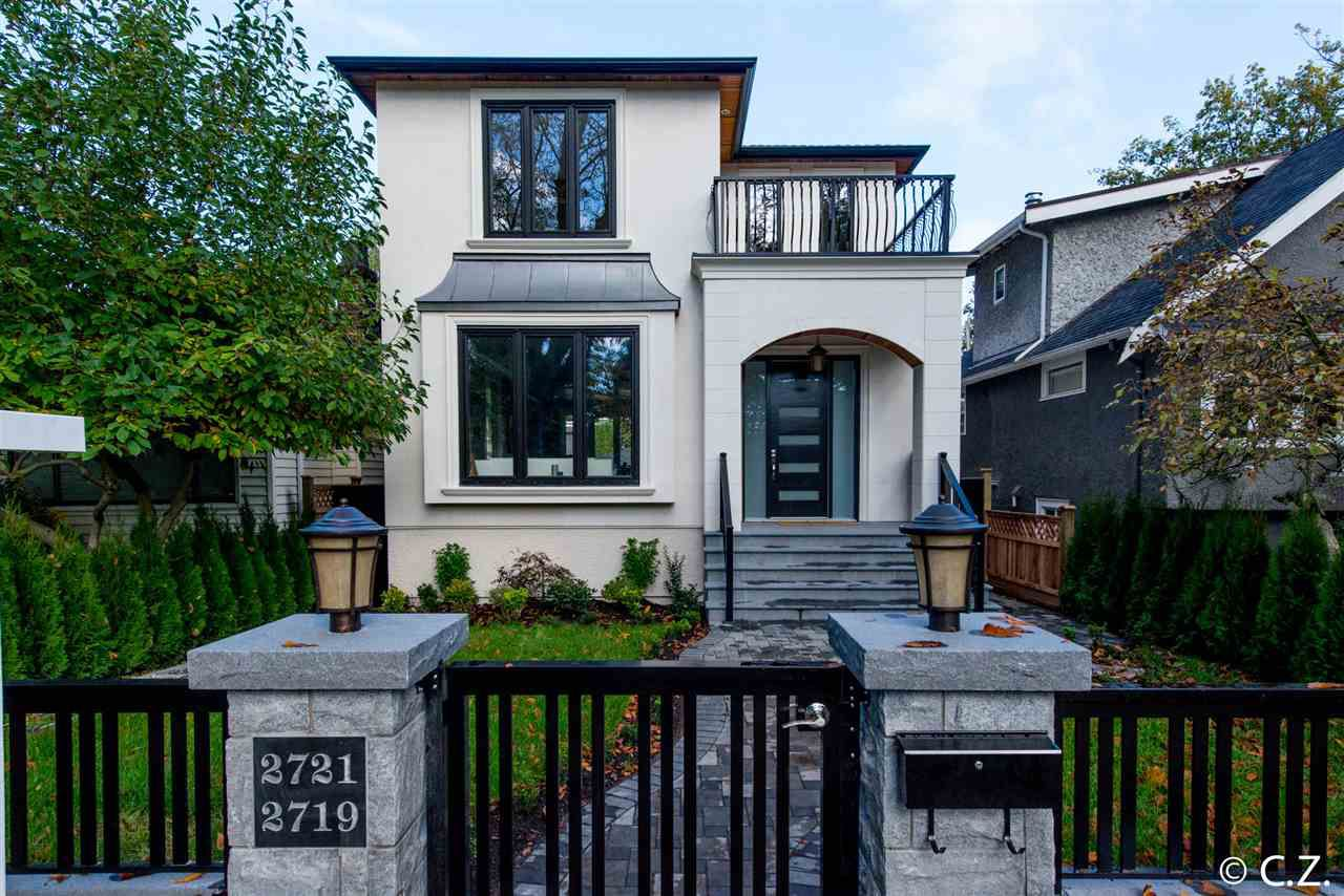 "Main Photo: 2721 W 14TH Avenue in Vancouver: Kitsilano House for sale in ""KITSILANO"" (Vancouver West)  : MLS?# R2007332"