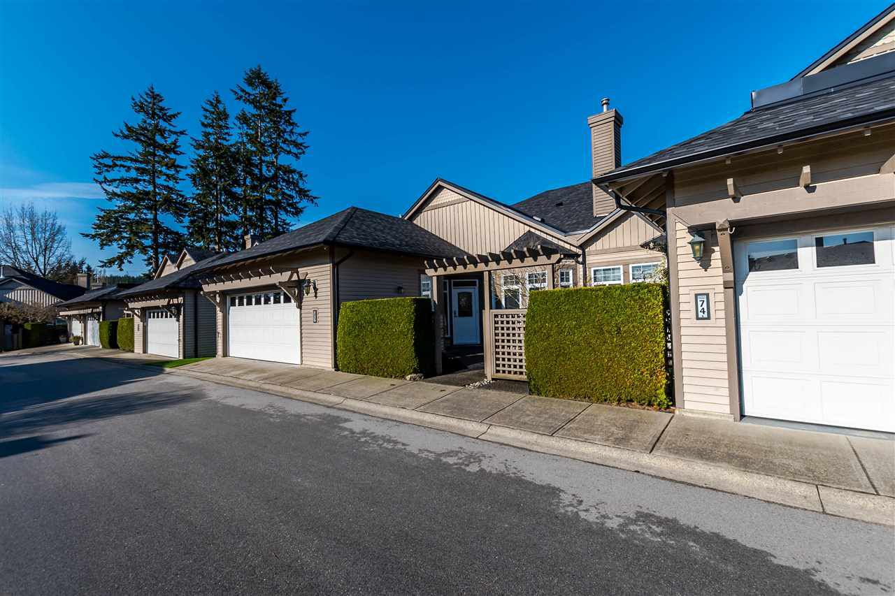 "Main Photo: 75 14909 32 Avenue in Surrey: King George Corridor Townhouse for sale in ""Ponderosa"" (South Surrey White Rock)  : MLS®# R2153126"
