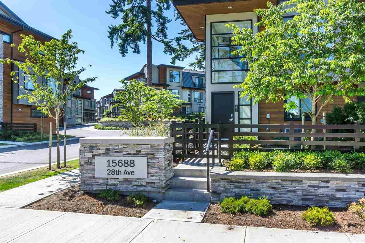 "Main Photo: 45 15688 28 Avenue in Surrey: Grandview Surrey Townhouse for sale in ""SAKURA"" (South Surrey White Rock)  : MLS®# R2184852"