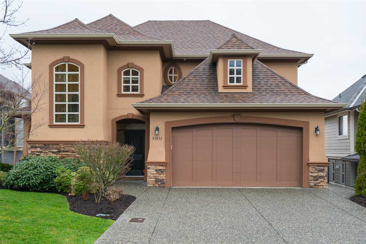 "Main Photo: 35832 TREETOP Drive in Abbotsford: Abbotsford East House for sale in ""Highlands"" : MLS®# R2236757"