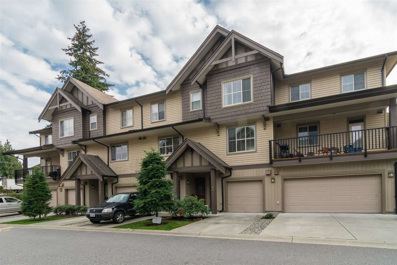 "Main Photo: 102 9525 204 Street in Langley: Walnut Grove Townhouse for sale in ""TIME"" : MLS®# R2337415"