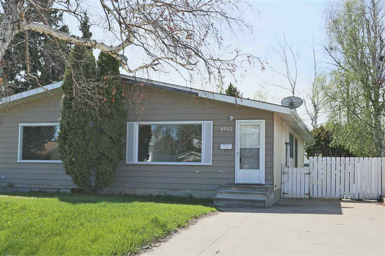 Main Photo: 4912A 55A Avenue: Stony Plain House Duplex for sale : MLS®# E4156964