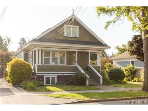 Main Photo: 2 1515 Camosun Street in VICTORIA: Vi Fernwood Condo Apartment for sale (Victoria)  : MLS®# 351421