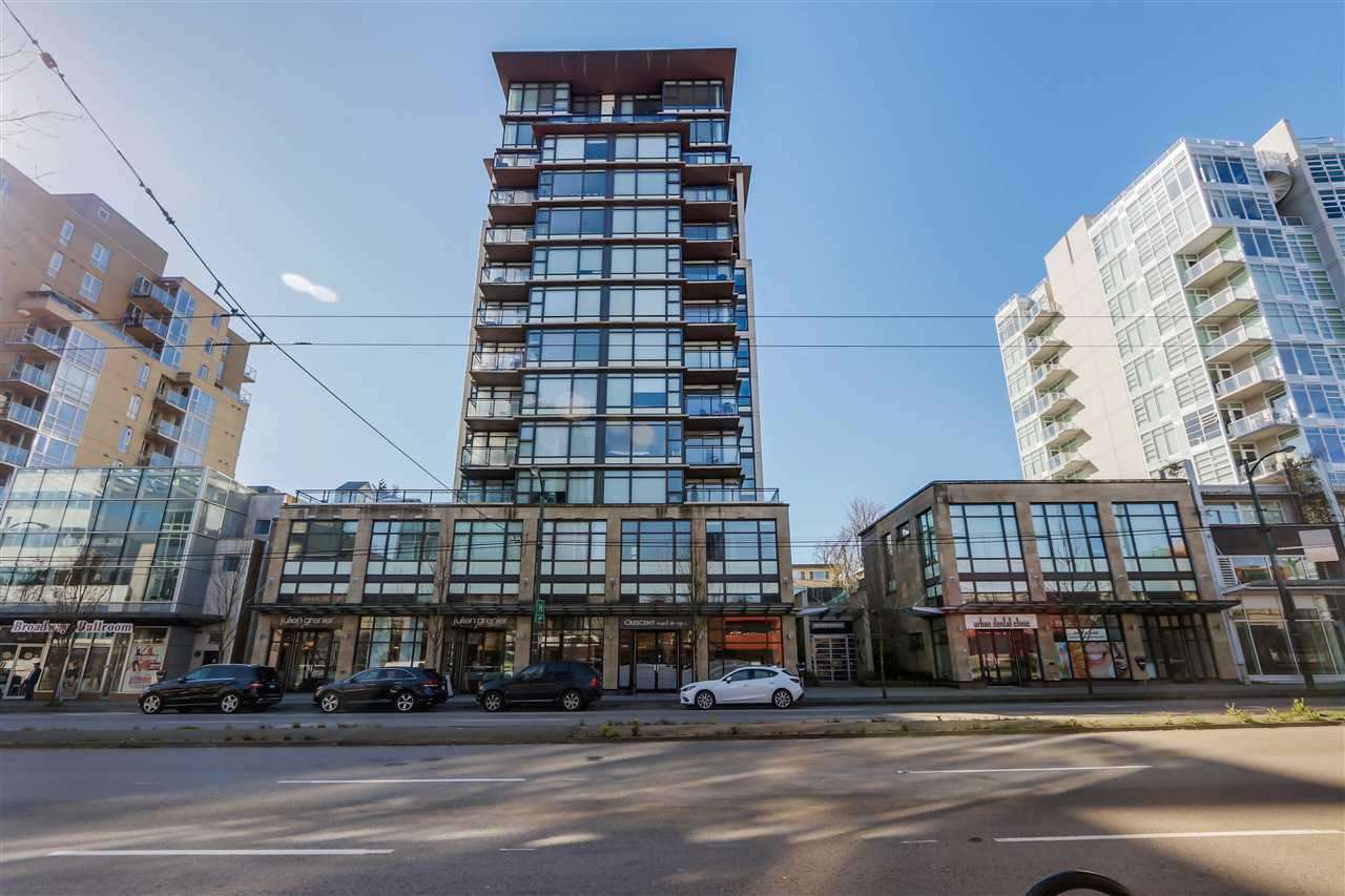 "Main Photo: 507 1068 W BROADWAY in Vancouver: Fairview VW Condo for sale in ""THE ZONE"" (Vancouver West)  : MLS®# R2051797"