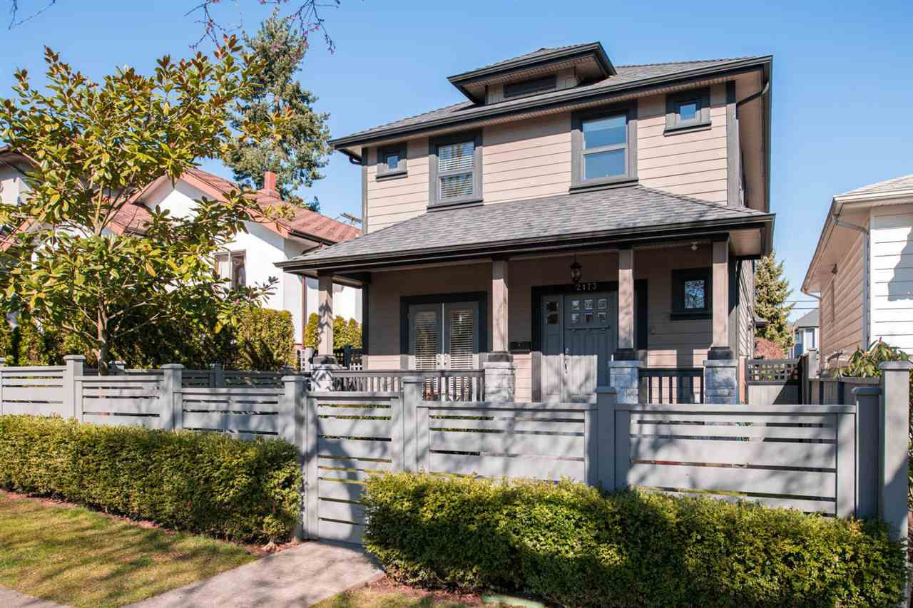 """Main Photo: 2173 CHARLES Street in Vancouver: Grandview VE House 1/2 Duplex for sale in """"COMMERCIAL DRIVE"""" (Vancouver East)  : MLS®# R2246529"""