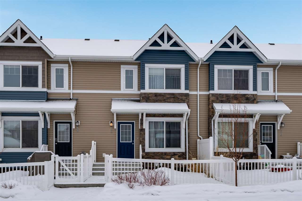 Main Photo: 69 14621 121 Street in Edmonton: Zone 27 Townhouse for sale : MLS®# E4142136