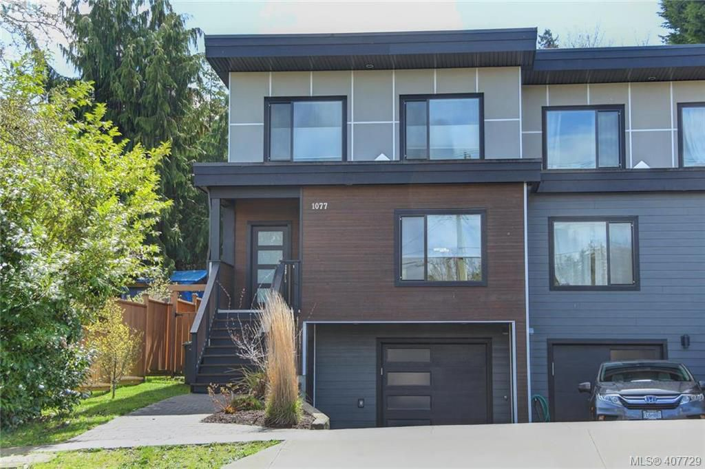 Main Photo: 1077 Colville Road in VICTORIA: Es Gorge Vale Strata Duplex Unit for sale (Esquimalt)  : MLS®# 407729