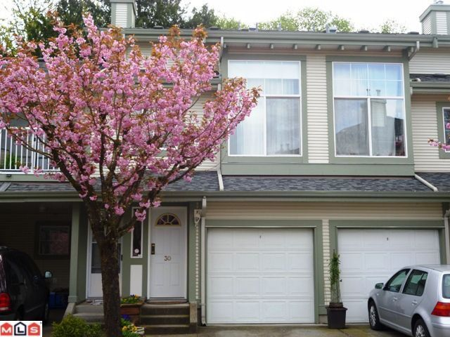 Main Photo: 30 8892 208th Street in Langley: Walnut Grove Townhouse for sale : MLS®# F1210685