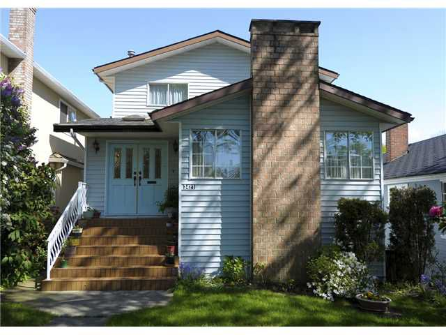 Main Photo: 3421 W 29TH Avenue in Vancouver: Dunbar House for sale (Vancouver West)  : MLS®# V962869