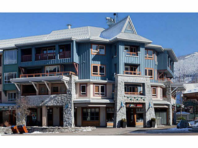 "Main Photo: 337 4314 MAIN Street in Whistler: Whistler Village Condo for sale in ""WHISTLER TOWN PLAZA - EAGLE LODGE"" : MLS®# V1106108"