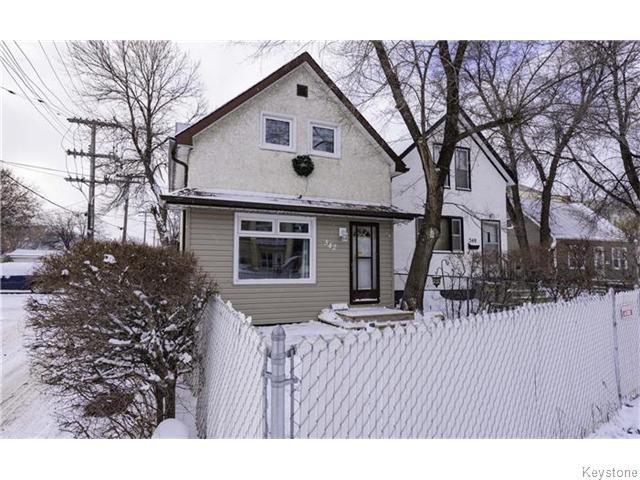 Main Photo: 342 De La Cathedrale Avenue in WINNIPEG: St Boniface Residential for sale (South East Winnipeg)  : MLS®# 1530499