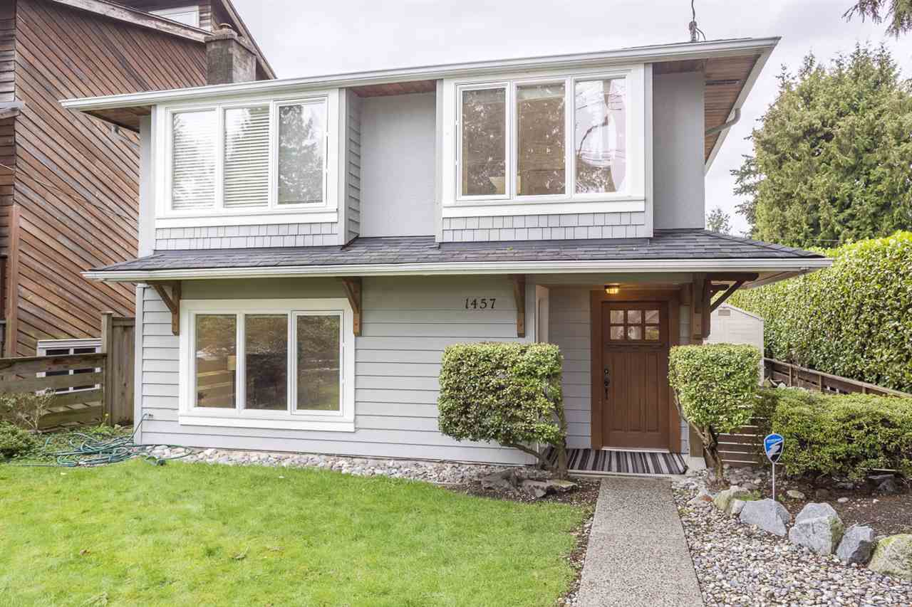 Main Photo: 1457 WILLIAM Avenue in North Vancouver: Boulevard House for sale : MLS®# R2164146