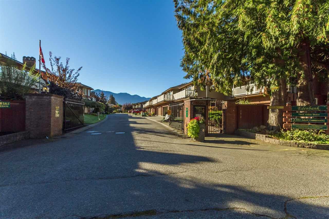 "Main Photo: 3 7001 EDEN Drive in Sardis: Sardis West Vedder Rd Townhouse for sale in ""EDENBANK"" : MLS®# R2166972"