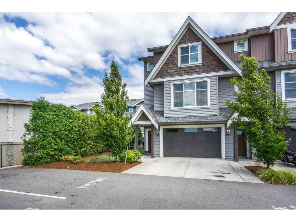 "Main Photo: 1 7428 EVANS Road in Sardis: Sardis West Vedder Rd Townhouse for sale in ""Countryside Estates"" : MLS®# R2191400"