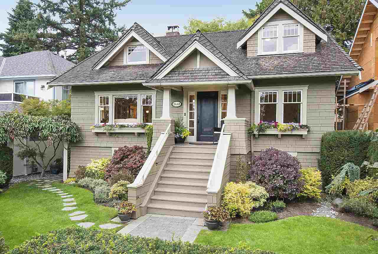 Main Photo: 3449 W 37TH AVENUE in : Dunbar House for sale : MLS®# R2210662