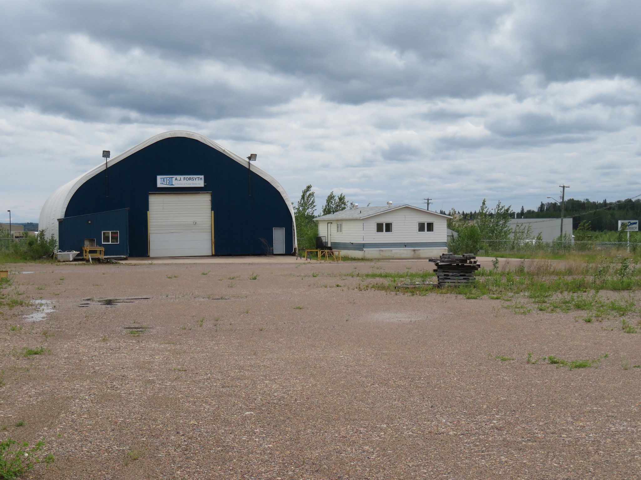 Main Photo: 4850 44 Avenue in Fort Nelson: Industrial for sale or lease (Fort Nelson (Zone 64))