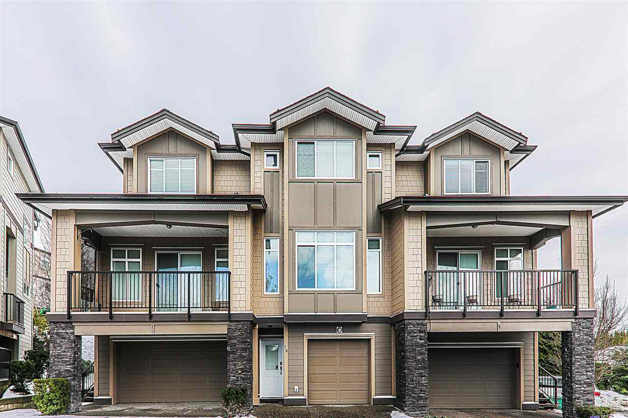 """Main Photo: 10 22865 TELOSKY Avenue in Maple Ridge: East Central Townhouse for sale in """"WINDSONG"""" : MLS®# R2341854"""