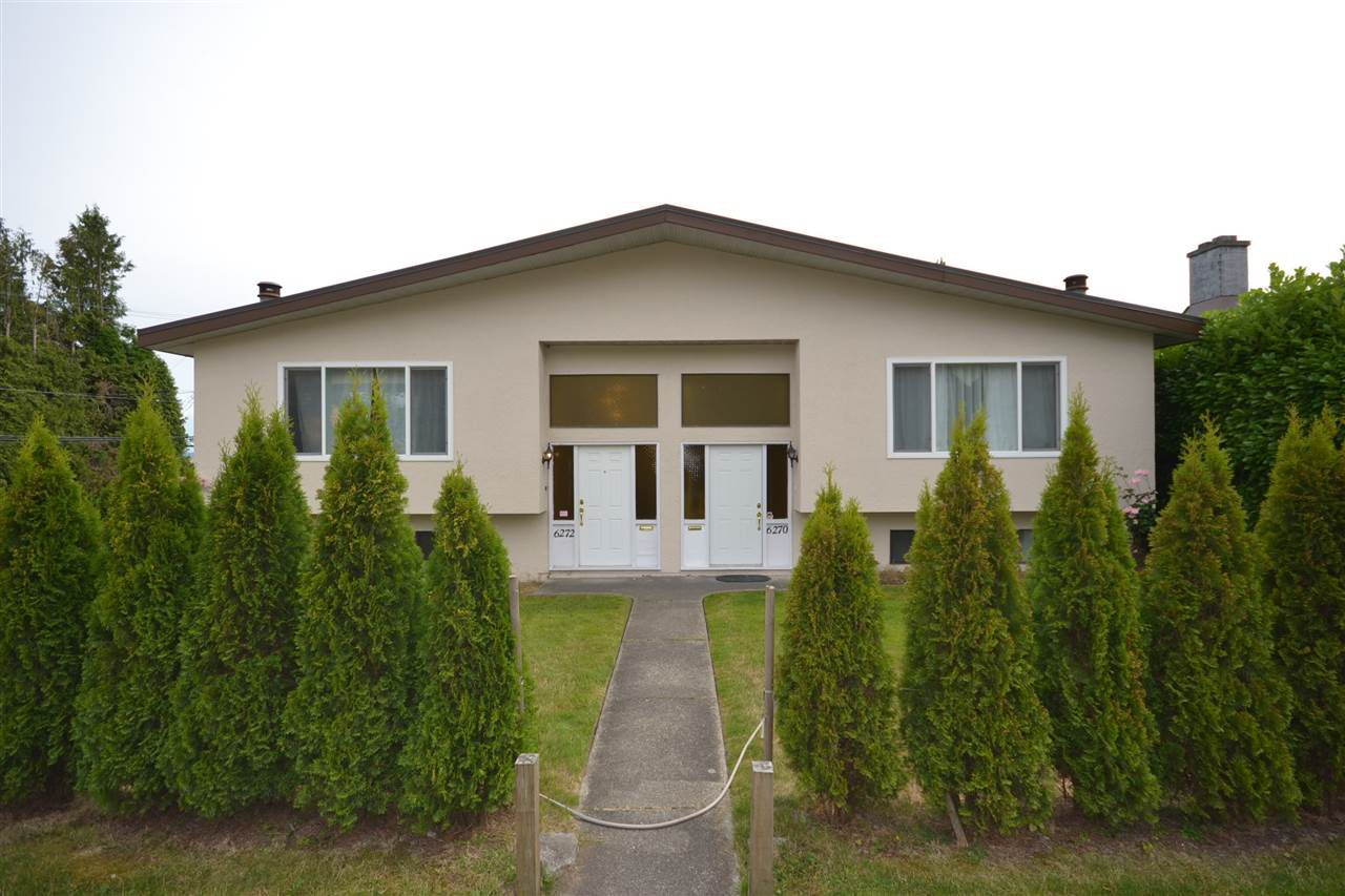 Main Photo: 6270 - 6272 RUMBLE Street in Burnaby: South Slope House Duplex for sale (Burnaby South)  : MLS®# R2387085