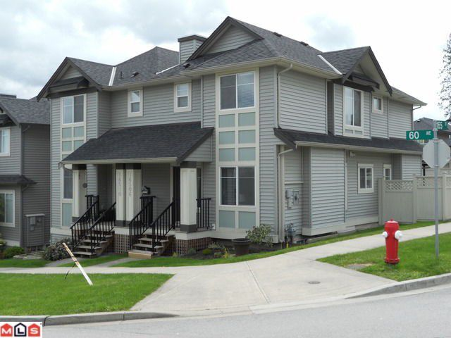"""Main Photo: 16506 60TH Avenue in Surrey: Cloverdale BC House 1/2 Duplex for sale in """"CONCERTO"""" (Cloverdale)  : MLS®# F1113657"""