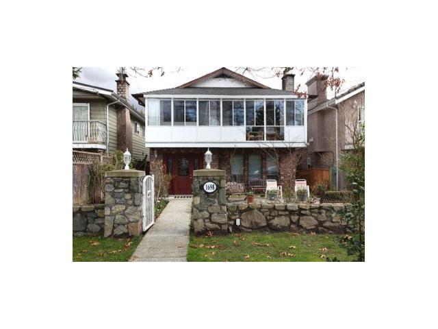 Main Photo: 1698 BOWSER AV in North Vancouver: Pemberton NV House for sale : MLS®# V938597