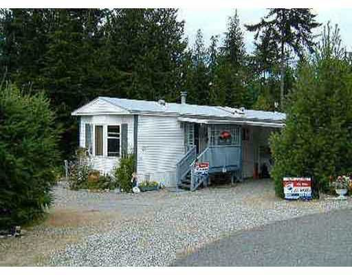 Photo 1: Photos: 21 1113 FLUME RD in Roberts_Creek: Roberts Creek Manufactured Home for sale (Sunshine Coast)  : MLS®# V406867