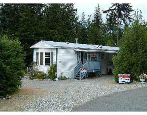Main Photo: 21 1113 FLUME RD in Roberts_Creek: Roberts Creek Manufactured Home for sale (Sunshine Coast)  : MLS®# V406867