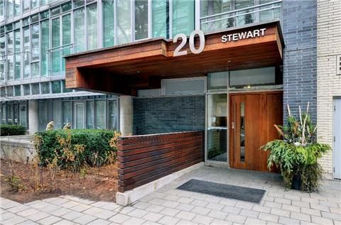 Main Photo: 5 20 Stewart Street in Toronto: Waterfront Communities C1 Condo for sale (Toronto C01)  : MLS®# C3127788