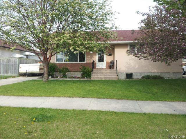 Main Photo: 531 Raquette Street in WINNIPEG: Westwood / Crestview Residential for sale (West Winnipeg)  : MLS®# 1514397