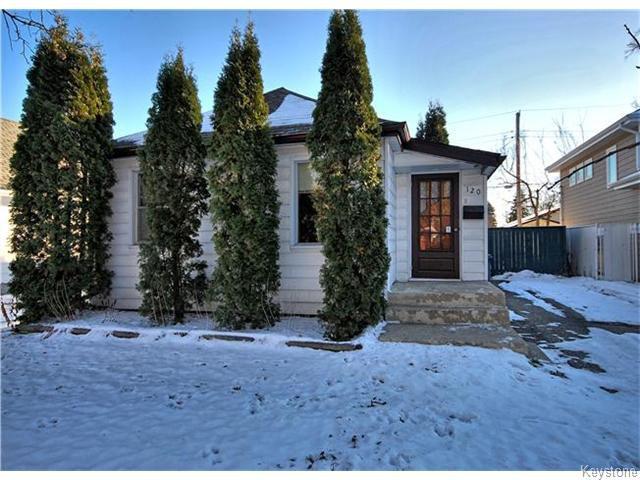 Main Photo: 120 St Vital Road in WINNIPEG: St Vital Residential for sale (South East Winnipeg)  : MLS®# 1526870