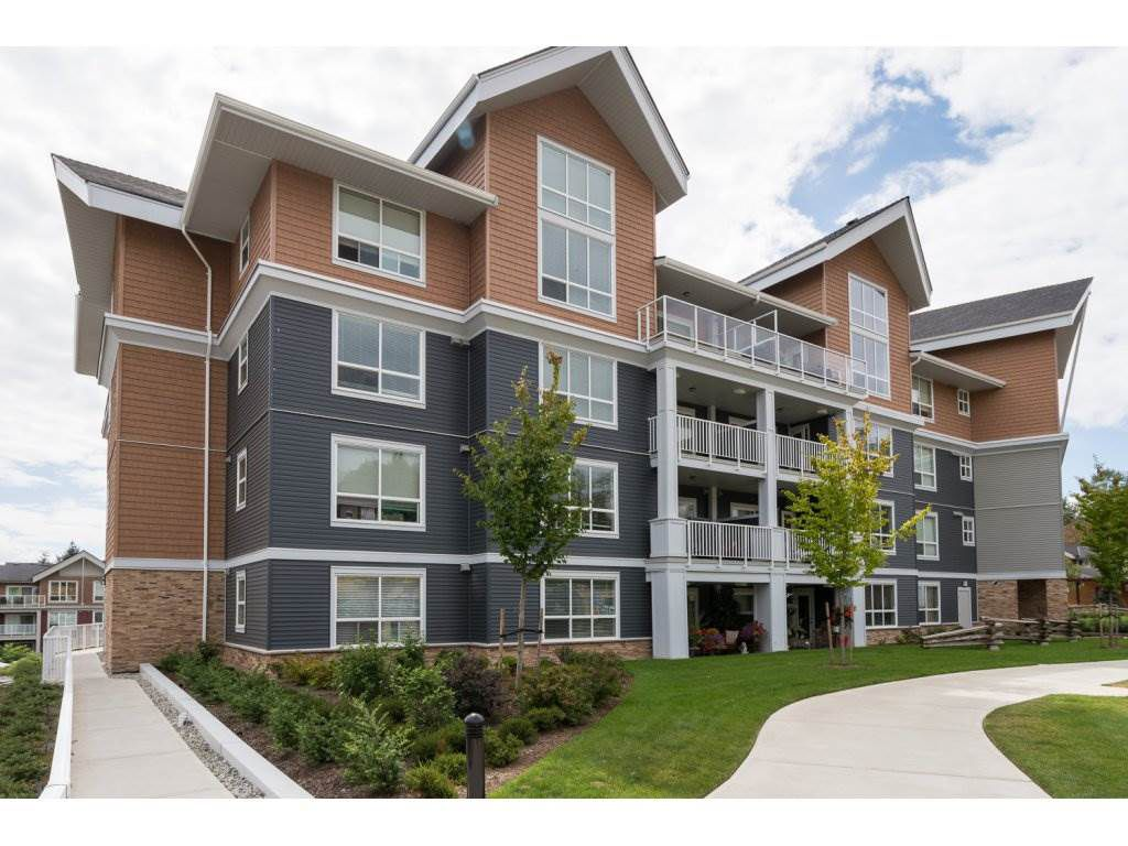 "Main Photo: 219 6480 194 Street in Surrey: Clayton Condo for sale in ""Waterstone - Esplanade"" (Cloverdale)  : MLS®# R2102853"