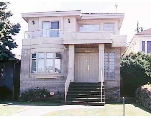 Main Photo: 3834 W 10TH AV in Vancouver: Point Grey House for sale (Vancouver West)  : MLS®# V551922