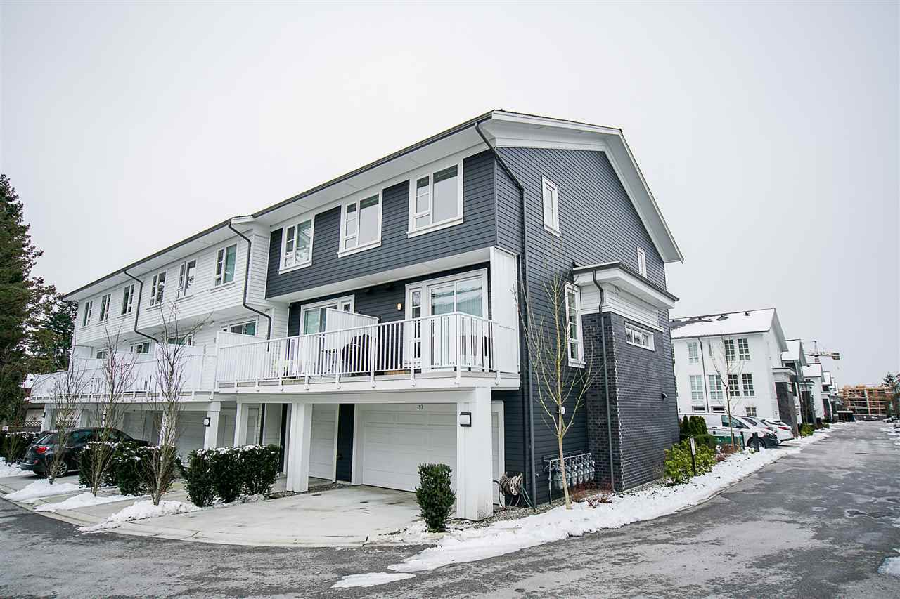 "Main Photo: 153 548 FOSTER Avenue in Coquitlam: Coquitlam West Townhouse for sale in ""Black + Whites"" : MLS®# R2241357"