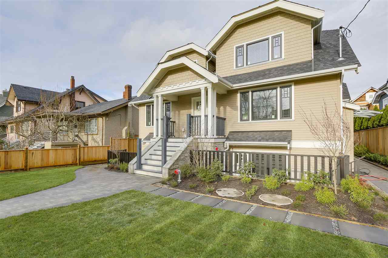 Main Photo: 2511 W 8TH AVENUE in Vancouver: Kitsilano House 1/2 Duplex for sale (Vancouver West)  : MLS®# R2229904