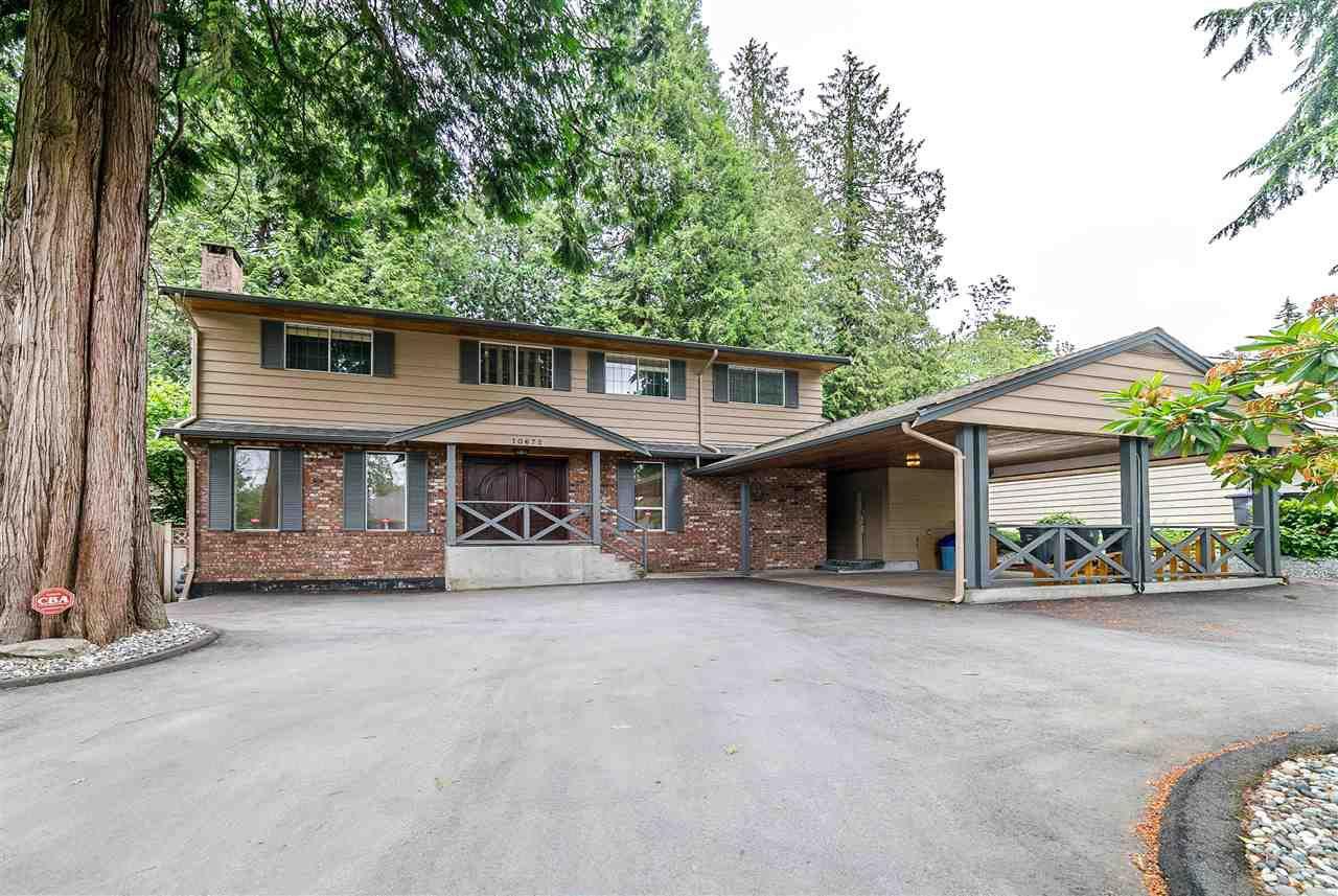Main Photo: 10672 127 Street in Surrey: Cedar Hills House for sale (North Surrey)  : MLS®# R2278200