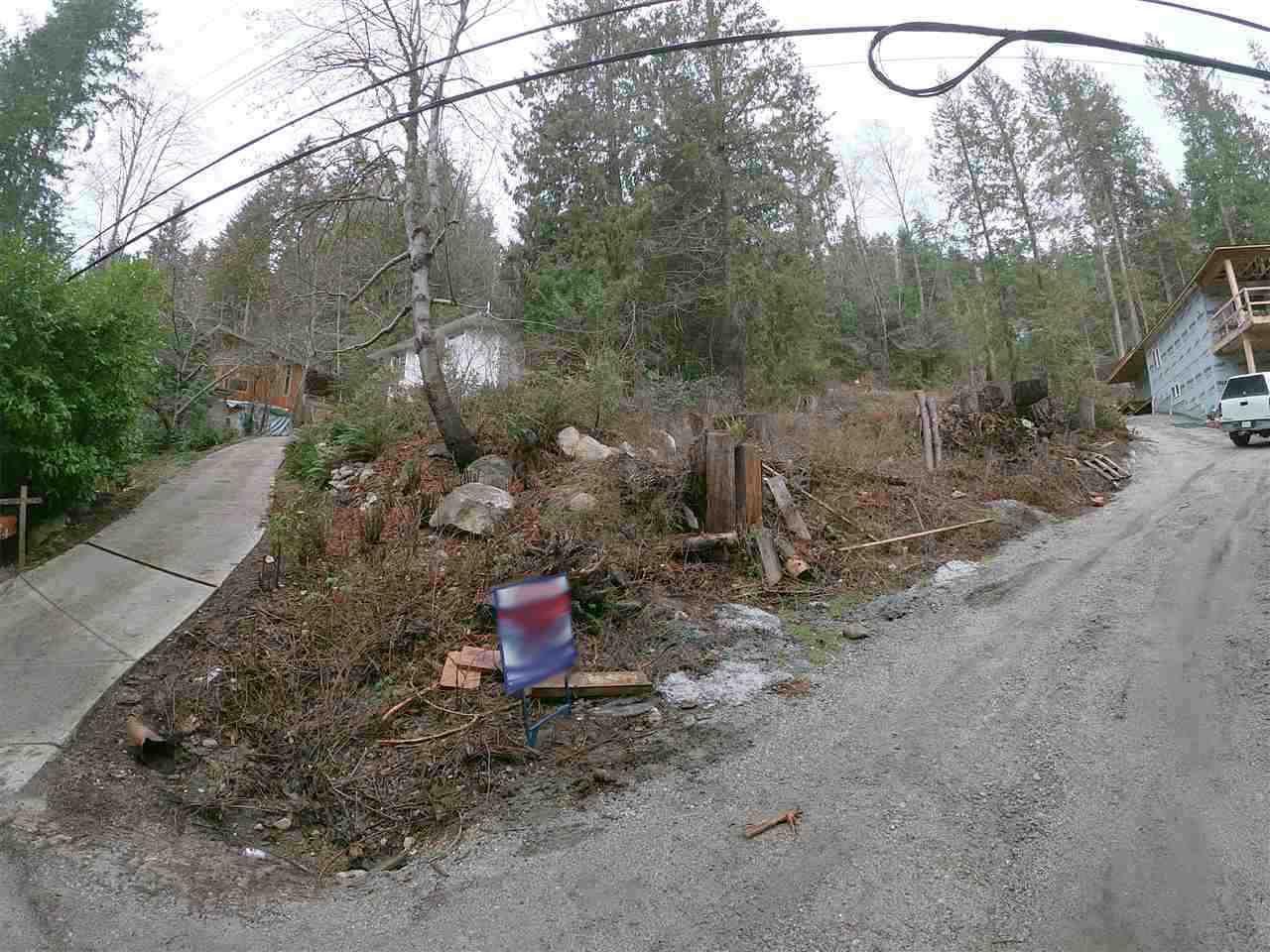Main Photo: Lot 11 SECHELT INLET Road in Sechelt: Sechelt District Home for sale (Sunshine Coast)  : MLS®# R2333235