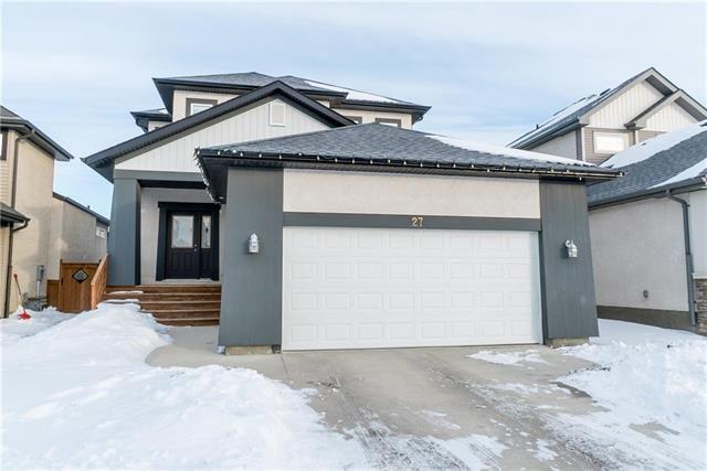 Main Photo: 27 Moonbeam Way in Winnipeg: Sage Creek Residential for sale (2K)  : MLS®# 1901220
