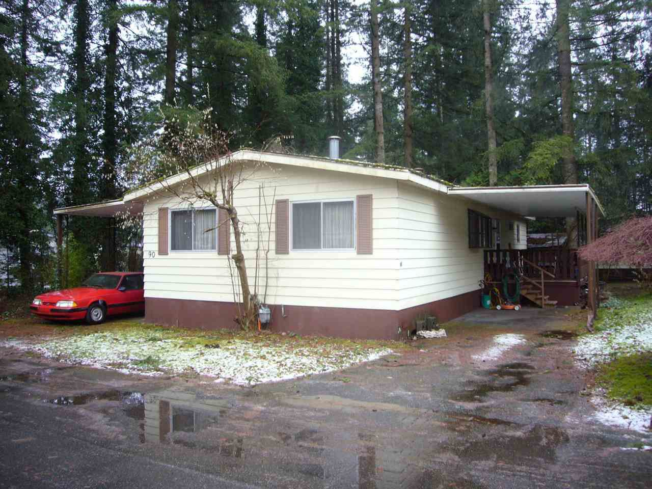 """Main Photo: 90 20071 24 Avenue in Langley: Brookswood Langley Manufactured Home for sale in """"FERNRIDGE"""" : MLS®# R2023941"""