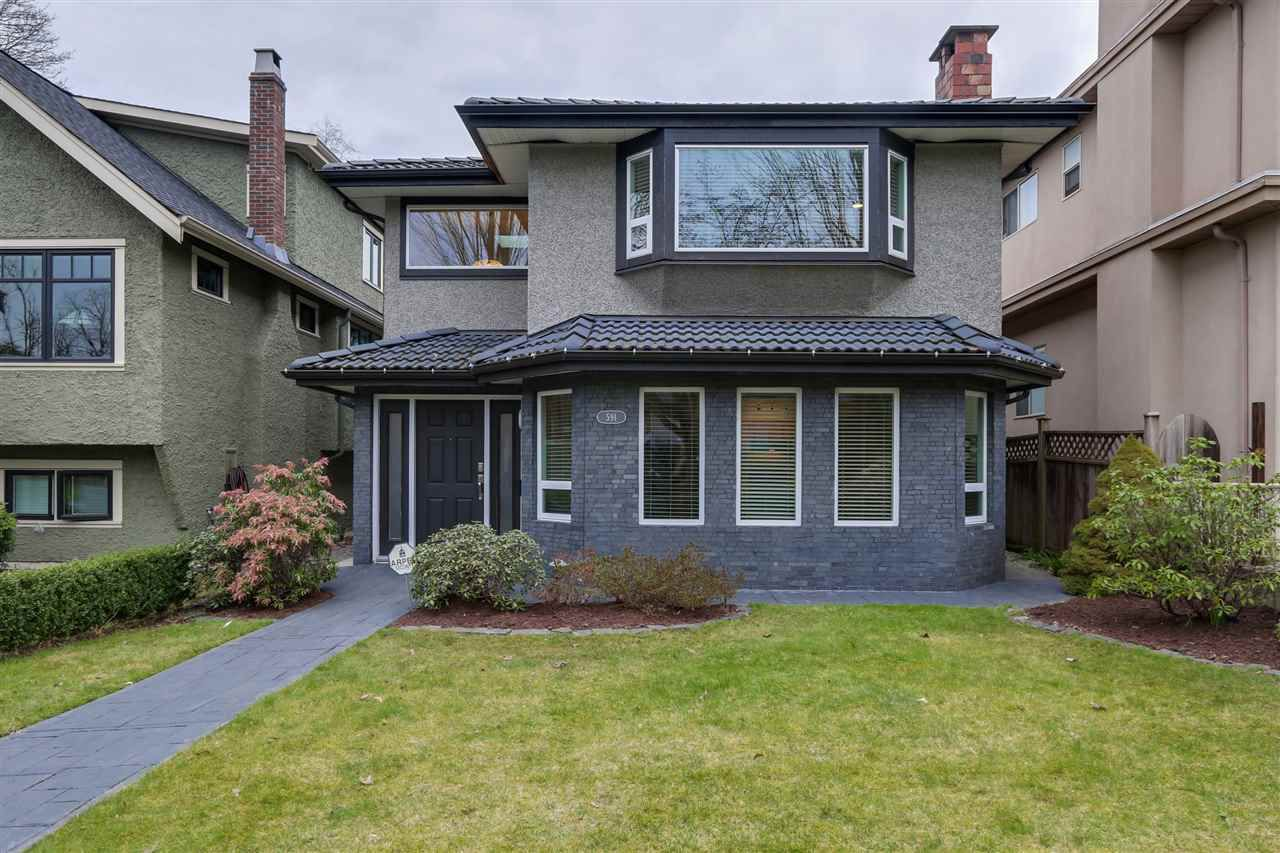"Main Photo: 591 W 23RD Avenue in Vancouver: Cambie House for sale in ""Cambie Village"" (Vancouver West)  : MLS®# R2039608"