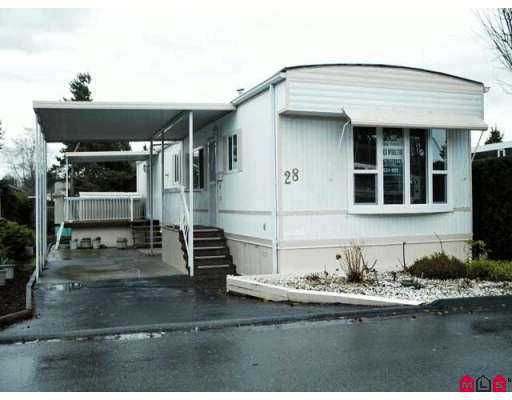 "Main Photo: 15875 20TH Ave in White Rock: King George Corridor Manufactured Home for sale in ""SEARIDGE BAYS"" (South Surrey White Rock)  : MLS®# F2625048"