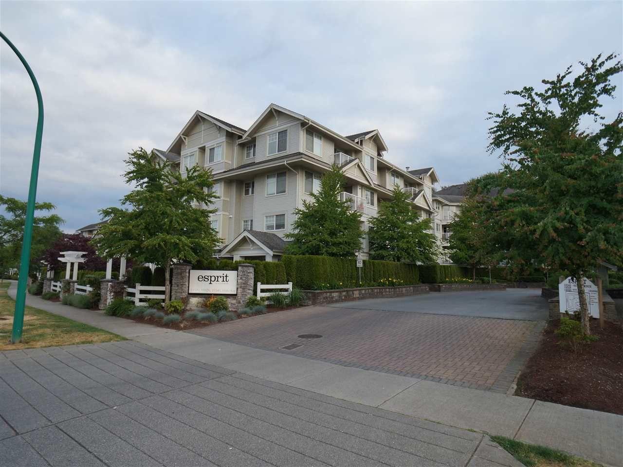 "Main Photo: 307 19340 65 Avenue in Surrey: Clayton Condo for sale in ""Esprit"" (Cloverdale)  : MLS®# R2072065"
