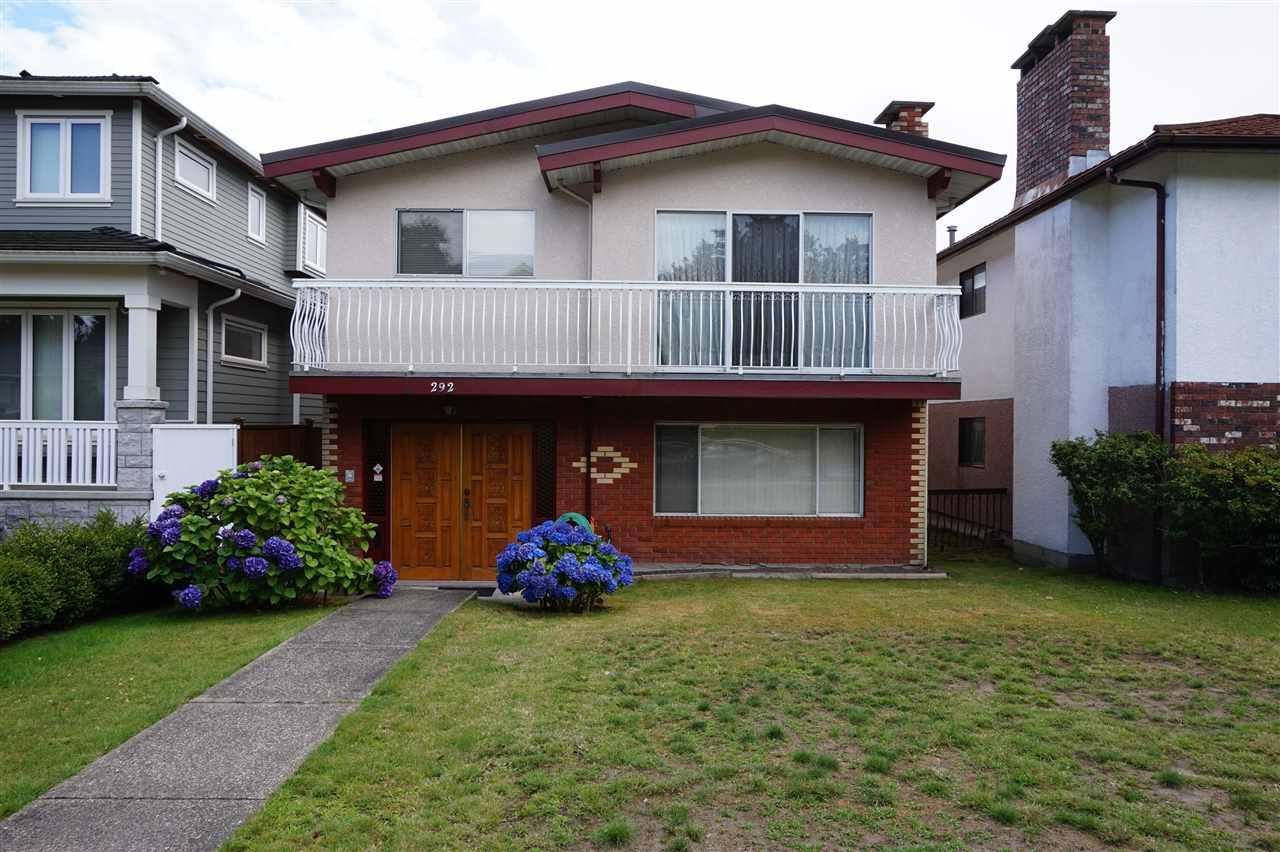 Main Photo: 292 W 45TH Avenue in Vancouver: Oakridge VW House for sale (Vancouver West)  : MLS®# R2092168