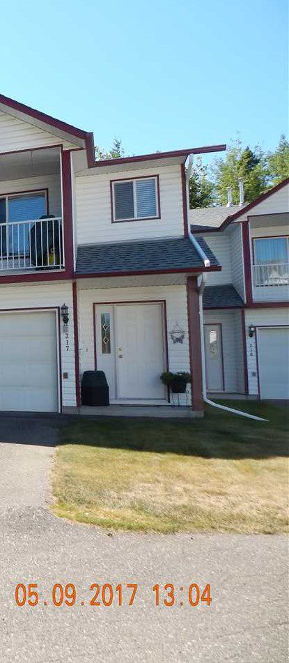 Main Photo: 317 3015 ST ANNE Crescent in Prince George: St. Lawrence Heights Townhouse for sale (PG City South (Zone 74))  : MLS®# R2195547