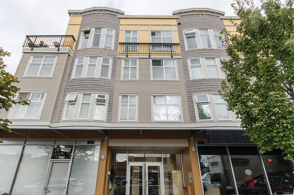 """Main Photo: 314 1503 W 65TH Avenue in Vancouver: S.W. Marine Condo for sale in """"The Soho"""" (Vancouver West)  : MLS®# R2203348"""