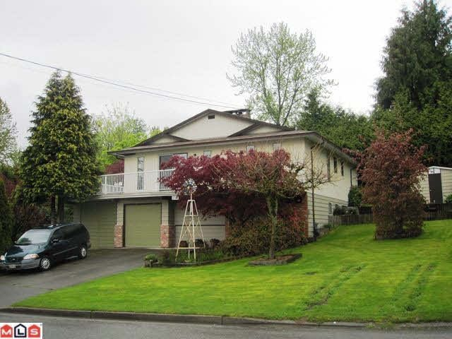 Main Photo: 2752 SPRINGHILL STREET in : Abbotsford West House for sale (Abbotsford)  : MLS®# F1106694